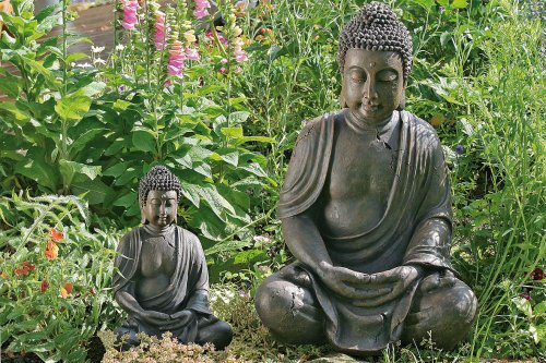 gartenfiguren kaufen buddha. Black Bedroom Furniture Sets. Home Design Ideas